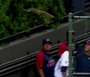 Squirrel Invades Indians Bullpen