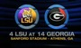 (4) LSU vs. (14) Georgia Highlights