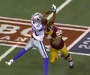 Redskins' Landry Levels Laurent Robinson