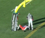 CFL Defender Runs Head First into Goalpost