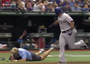 Cameraman Goes Down Hard Following Beltre HR