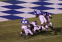 High School RB Leaps 15 Feet into Endzone