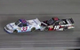 Kyle Busch Intentionally Wrecks Hornaday Jr.