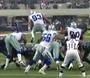 Cowboys' Spencer Leaps Over Line to Block Field Goal