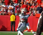 Chiefs' Baldwin Catches Ball on Opponent's Back