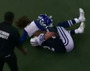Cowboys' Witten Collides With Cheerleader