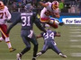 Redskins' Helu Hurdles His Way to TD