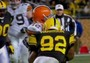 Steelers' Harrison Levels Colt McCoy