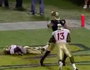 Notre Dame's Floyd Makes Juggling TD Grab