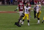 Camera Nearly Falls on Iowa WR