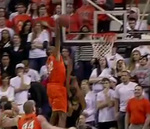 OK. State's Brown Throws Down Huge