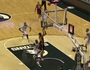 Minnesota's Welch Attempts Alley-Oop, Makes 3-Pointer