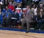 Mavs' Carlisle Ejected for Kicking Ball into Stands