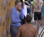Olympic Swimmer Proposes on Medal Stand
