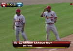 Cards Broadcasters Have Fun With 'M