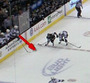 Sharks' Clowe Interferes From the Bench