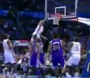 Westbrook With Nasty Alley-Oop Slam
