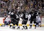 Kings Take 3-0 Series Lead on Brown's Goal