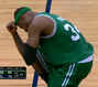 Paul Pierce Tebowing After Critical Free Throw