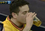 Padres Fan Catches Ball in Beer - Chugs Beer