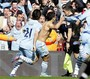Aguero's Late Score Lifts Man. City to EPL Title