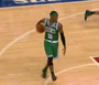 Rondo With Huge Ball Fake and Assist