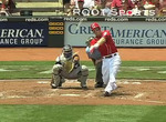 Reds' Frazier Loses Bat, Still Hits