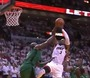 Wade Converts While Getting Fouled by Garnett