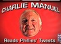 Charlie Manuel Reads Phillies' Tweets