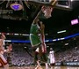 Garnett Dunks on James Jones