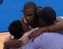 Kevin Durant Embraces Family Late in Game 6