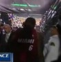 Fan Drops Beer on LeBron