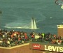Man Hovers Above McCovey Cove