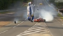 Huge Crash at 24 Hours of Le Mans Race