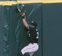Brewers' Gomez Makes Catch While Crashing Into Wall