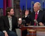 Dickey Demonstrates His Knuckle Ball on Letterman