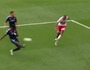 Thierry Henry Scores Off Post to End Scoreless Drought