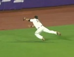 Angel Pagan's Diving Grab Starts Do