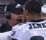 Eagles' Reid Has Heated Exchange With Jenkins