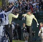 Rory McIlroy Sinks Chip Shot at the Ryder Cup