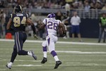 Adrian Peterson Breaks Off 82-Yard