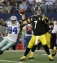 Roethlisberger Eludes Tackles for Eight Seconds, Throws TD