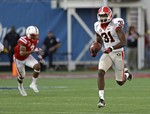 Georgia Breaks Away Late in High-Sc