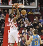 Harden's 31 Leads Rockets past Horn