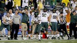 Oregon Sprints Past Kansas State in