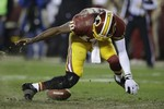 RGIII Goes Down in Redskins' Loss