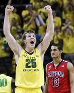 Oregon Drops No. 4 Arizona from Ran
