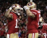 Kaepernick Sets QB Rushing Records