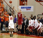 NC State Beats Clemson on Late Thre