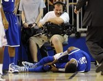 Kentucky's Nerlens Noel Injures Kne